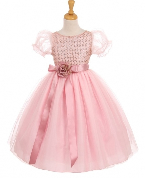 8af7828e30d Детское нарядное платье Графиня розовое 6387кк купить в интернет ...