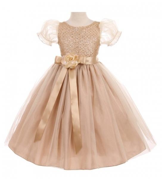 c0630a82581 Нарядное платье для девочки Графиня кремовое 6387kk купить в ...
